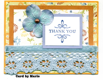 Thank You Card by Guest