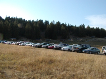 Ample Free Parking at Eden Valley Guest Ranch for Any Event.