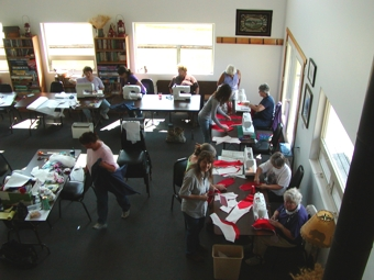 Flexibility for Groups at Eden Valley Includes Sewing!